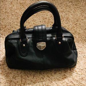 Black leather Express bag
